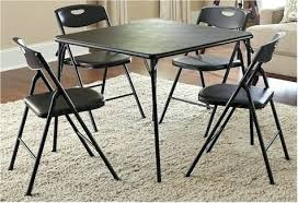 5 piece card table set cosco folding table and chairs ourthingcomic com
