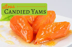 thanksgiving yams with marshmallows recipe citrus candied yams recipe sparkrecipes