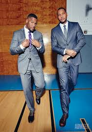 michael strahan new haircut michael strahan and carmelo anthony sound off on basketball and