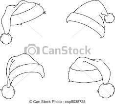 christmas hat drawings learntoride
