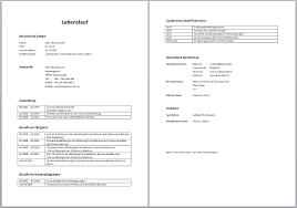 Lebenslauf Vorlage Uni Tabellarischer Lebenslauf Muster Aufbau Word Vorlage Beispiel