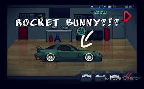 pixel car racer pixel car racer new update 0 5 0 new cars and rocket bunny
