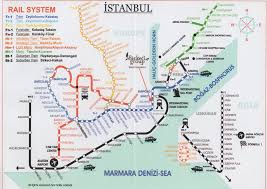 istanbul metro map the guide to transportation in istanbul