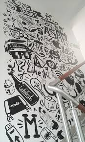 best 25 office mural ideas on pinterest big wall letters agency life mural peterjaycob