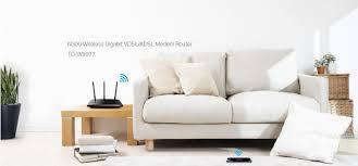 buy the tp link td w9977 adsl2 vdsl2 modem router n300 4 x