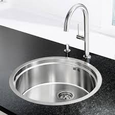 Kitchen Sinks  Accessories Heat  Plumb - Round sink kitchen