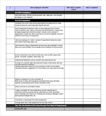 you should only use an excel onboarding checklist template when