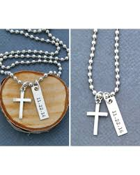 man necklace gift images Great deal on mens cross necklace christening gift guys baptism