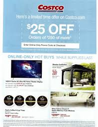 costco com 25 off 250 are back in stores slickdeals net