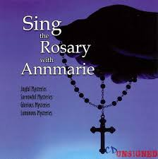 rosary cd annmarie sing the rosary with annmarie buy the cd from cd unsigned