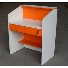 Small Receptionist Desk China Small Reception Desk For Stores Colorful And Useful On