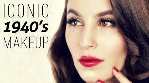 iconic 1940 u0027s makeup tutorial youtube