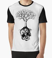 Tree Shirt Skull And Tree Graphic T Shirt Nocturnal Prototype