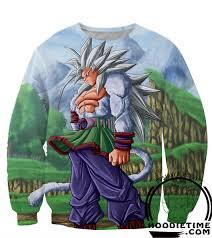 dragon ball sweaters super saiyan 5 goku sweatshirt 360 3d