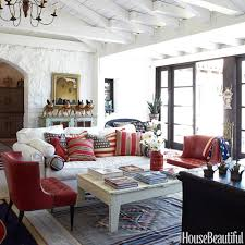 blue and white family room house beautiful pinterest house beautiful flag draped over chair back us flag