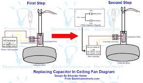 ceiling fan capacitor wiring diagram carlplant