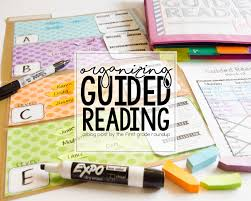Guided Reading How To Organize Organizing Guided Reading Firstgraderoundup