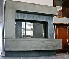 fireplaces concrete wave design concrete countertops