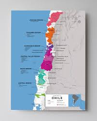 Map Of Greater Seattle Area by Detailed Chilean Wine Regions Map Wine Posters Wine Folly