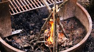 How To Make A Campfire In Your Backyard How To Make A Fire Camping Youtube