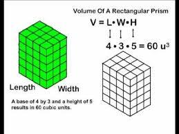 volume rectangular prisms youtube