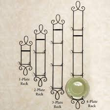 iron scroll wall art decorative plates and racks touch of class