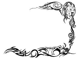 tattoo borders designs free download clip art free clip art