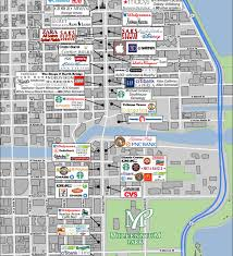 chicago map printable retail area map the wrigley building chicago illinois