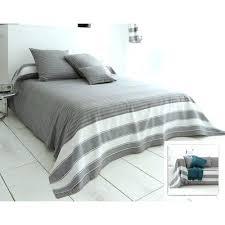 boutis canapé plaid taupe pour canape jetac de tissage rayac coton becquet plates