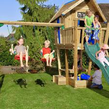 jungle gym wooden jungle crazy playhouse cxl with 2 swing module