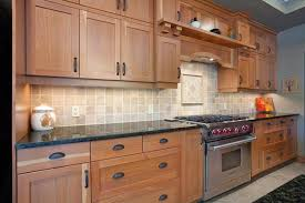 Shaker Kitchen Cabinets with Kitchen Fascinating Natural Cherry Shaker Kitchen Cabinets