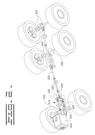 patent us6631773 articulated truck for carrying a load through a