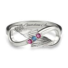 ring with birthstones birthstone rings arshirly