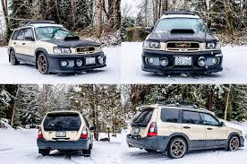 forester subaru 2003 supercharged forester cross sports winter update subaru