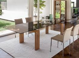 dining room brooklyn extendable glass dining table brooklyn by tonin casa dining