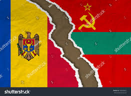 Moldova Flag Flag Moldova Flag Transnistria Selfproclaimed State Stock