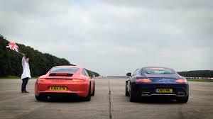 porsche 911 carrera gts drag race porsche 911 carrera gts vs mercedes amg gt s biser3a