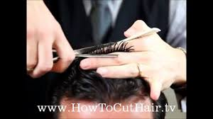 men u0027s haircutting techniques learn how to cut men u0027s hair with