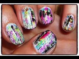 make your own crackle effect nail polish design youtube