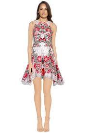 thurley flower bomb mini dress size 10 the volte