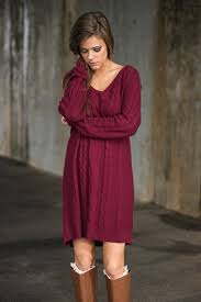 maroon sweater dress if you want simple sweater dress burgundy the mint julep boutique
