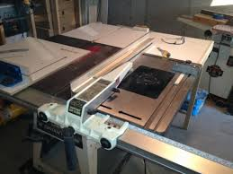 laguna router table extension outfeed table for tablesaw woodworking talk woodworkers forum