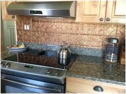 faux tin kitchen backsplash tin tile backsplash tin ceiling tile antique copper three inch faux