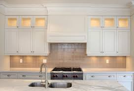 Cabinets With Crown Molding Installing Crown Molding On Kitchen Cabinets Kitchen Decoration