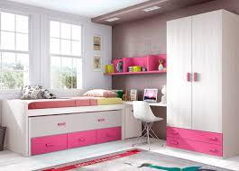 chambre enfant fille complete chambre fille et avec un lit surélevé glicerio so nuit