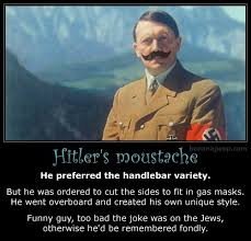 Handlebar Mustache Meme - bananapoop humor demotivational dark morbid gore 11