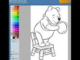 winnie pooh coloring pages kids winnie pooh coloring