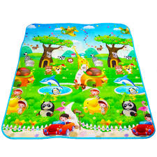 Kids Play Rugs With Roads by Aliexpress Com Buy Maboshi Double Fruit Letter Baby Play Mats