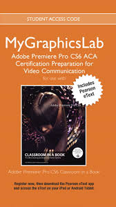 pearson etext app for android peachpit press mygraphicslab aca prep course pr cs6 access card