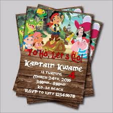 jake and the neverland pirates invite online get cheap pirate birthday invitations aliexpress com